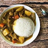 咖喱牛腩饭的做法图解16
