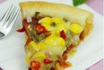 酸豆角火腿芝心披萨的做法