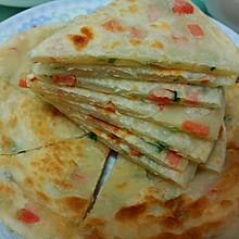 香酥火腿葱油饼