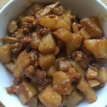 鲍鱼炖土豆