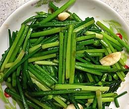 蠔油炒韭菜皇的做法