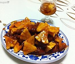 夏天水果入菜-糖醋菠萝排骨的做法