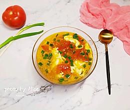 西红柿鸡蛋汤#中式减脂餐#的做法