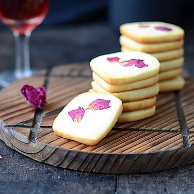 浪漫玫瑰饼干