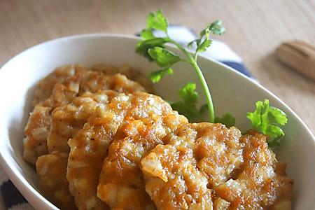 焦香藕饼的做法