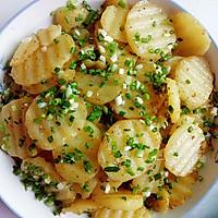香煎孜然土豆片的做法图解5