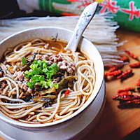 老坛酸菜米线#我要上首页挑战家常菜#的做法图解13