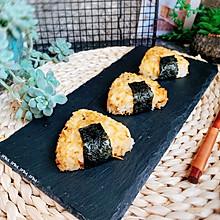 海苔肉松烤饭团#精品菜谱挑战赛#