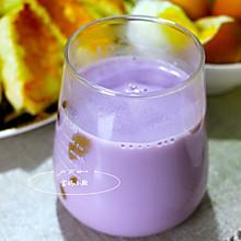 儿童营养早餐~米润奶香紫薯糊