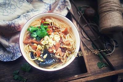 肥肠米线#2018年我学会的一道菜#