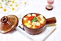 肉末番茄烩豆腐的做法