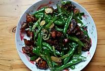 家常辣子鸡,一只鸡太大,容易腻,切两个大鸡腿下来做个开胃菜的做法