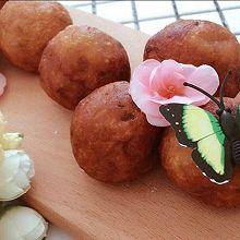 南瓜紫薯球