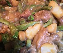 土豆芸豆炖排骨的做法