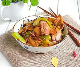 家常土豆小炒肉的做法