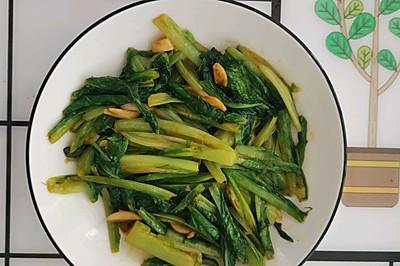蒜香耗油油麦菜