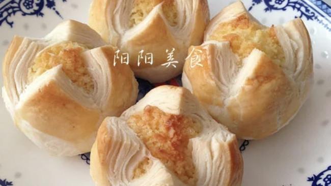 奶香椰蓉开口酥的做法