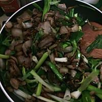 干辣椒炒腊肉的做法图解3