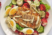 #我要上首焦#我的轻食减脂餐||果蔬鸡胸肉沙拉的做法
