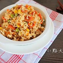 香肠杂蔬煲仔饭#松下饭煲年味#