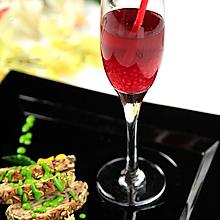 蔓越莓西米果味薄荷汁