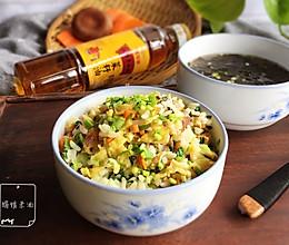 超级香菜籽油 炒饭的做法