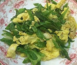 青椒炒蛋的做法
