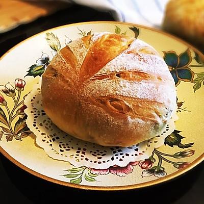 核桃乡村面包