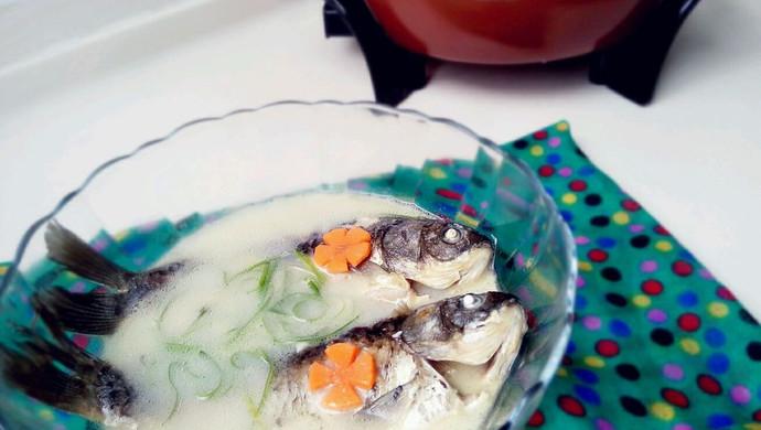 奶白鲫鱼汤——利仁电火锅试用菜谱