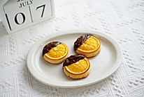 橙意满满超高颜值的巧克力橙子饼干的做法