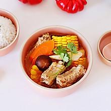 #洗手作羹汤#番茄玉米排骨汤