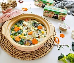 猪骨浓汤蔬菜煲的做法