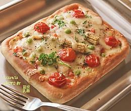 培根番茄披萨的做法