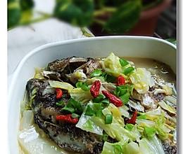 白菜炖鲫鱼的做法