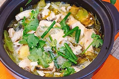 粵式老壇酸菜魚,簡單易做