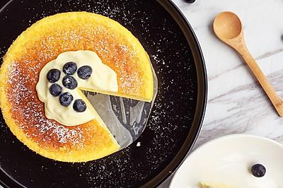 三种原料 最牛掰的'日式舒芙蕾芝士蛋糕'