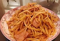 土豆丝的做法