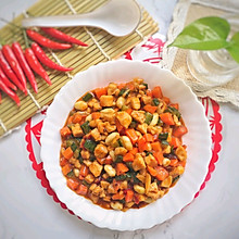 #钟于经典传统味#简单美味宫保鸡丁,很受欢迎的一道菜!