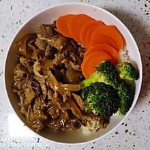 吉野家版牛肉饭