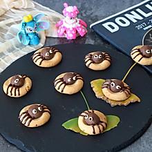 万圣节卡通蜘蛛饼干