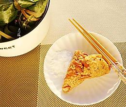 #甜粽VS咸粽,你是哪一党?#高粱米甜粽的做法