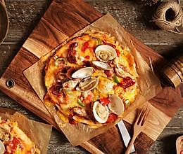 快手海鲜什锦披萨的做法