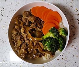 吉野家版牛肉饭的做法