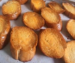 简单快手法棍新吃法(宝宝也能吃的哦)——蜂蜜黄油+香蕉的做法