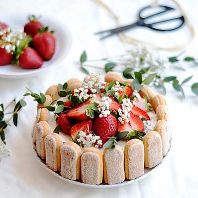 【不藏私食谱:夏洛蒂蛋糕】不会裱花也能做的精致蛋糕