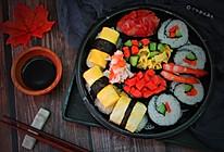 简易版寿司拼盘的做法