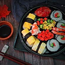 简易版寿司拼盘