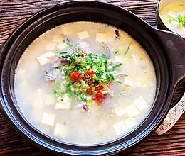 奶白的砂锅鲫鱼豆腐汤的做法