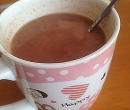 热可可 热巧克力的做法