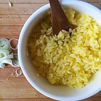 『家夏』早餐快手饭  黄金炒饭(剩大米的美味做法)的做法图解2